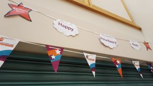 Volunteers' Week decorations June 2016