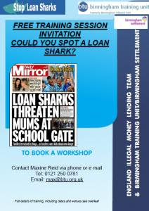 Loan shark awareness