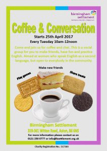 Coffee & Conversation Poster 240417