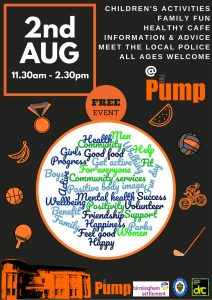 The Pump Health & Wellbeing Event 020817