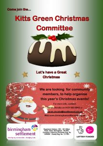 Kitts Green Christmas Committee 050917