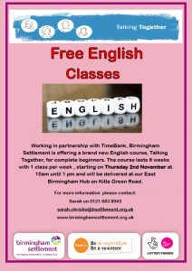 East Birmingham ESOL 10.10.17 with Date and Time 101017