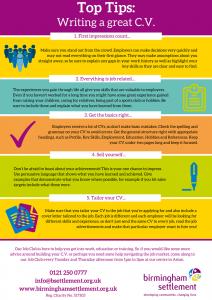 Top Tips - Writing a great CV Oct 2017