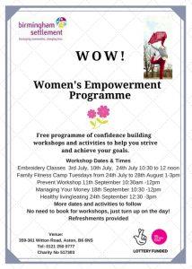 Empowering Women 18072018