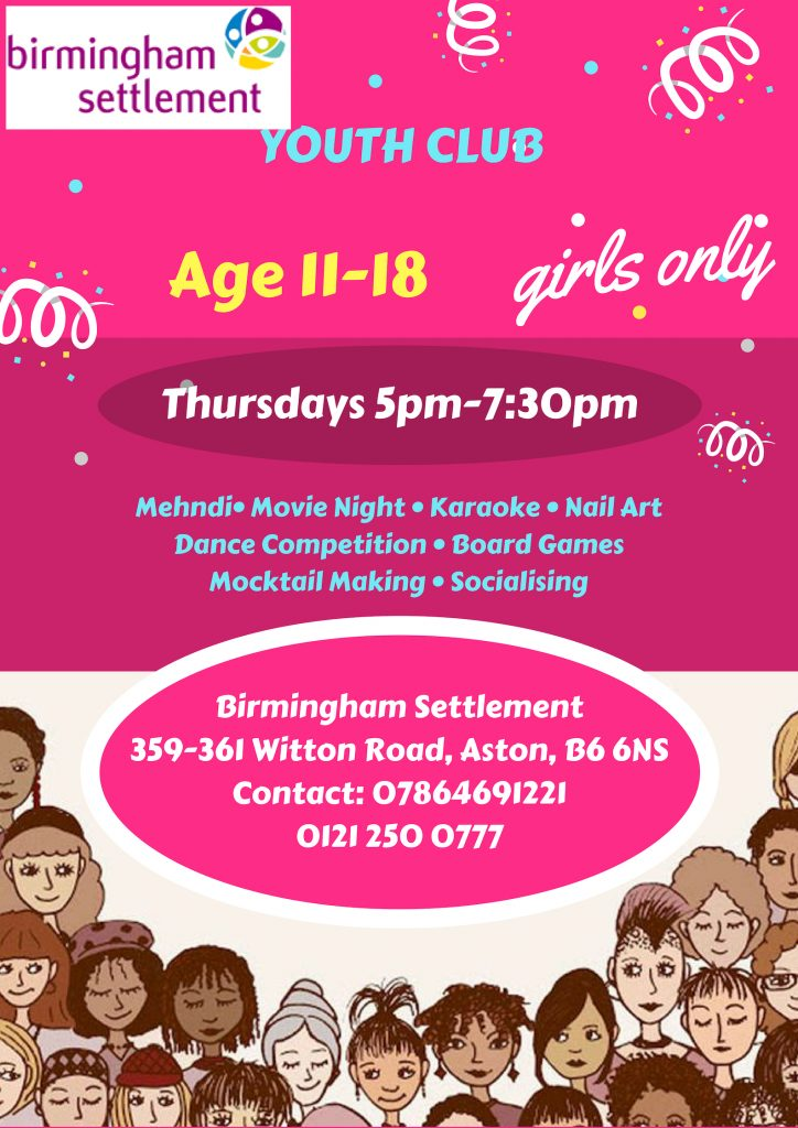 Girls YOUTH CLUB
